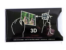 LOREO LITE folding 3-D Viewer for 3D Prints stereoviews inexpensive! sh