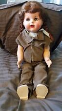 "SAUCY WALKER 1940's VINTAGE DOLL 22"" IDEAL / ORIGINAL CLOTHING BEAUTIFUL DOLL!"