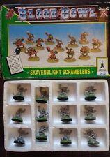 12 Man Skaven Team - Skavenblight Scramblers - Blood Bowl - Citadel -Boxed- 1994