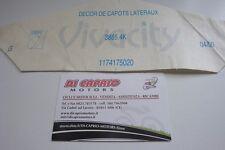 Decalco scritta adesiva Adesivo Peugeot Vivacity ORIGINALE  col.Argento