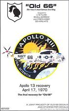"Starfighter Decals 1/72 SIKORSKY SEA KING ""OLD 66"" Apollo 13 Recovery Helicopter"