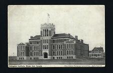 Moose Jaw Canada 1913 Pc Collegiate Institute Main College Building & Residence