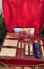 2020 Estee Lauder Blockbuster Holiday 9Pc Make Up Gift Set W/Train Case