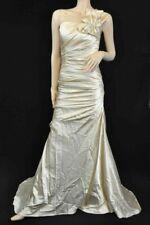 Light in the Box Abendkleid Ballkleid aus Satin beige ca. Gr. 36 Neu