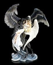 ANGE ET LA GRANDE FAUCHEUSE Figurine - and the reaper - James Ryman gothic