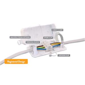 DEBOX - 4 POLE SCREW TERMINAL BLOCK INSIDE CONNECTOR BOX