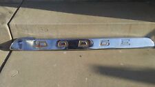 dodge truck front molding grill 1960