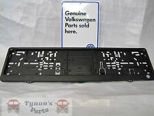 Volkswagen European Vw Euro Style License Plate Frame Holder Oem Brand New