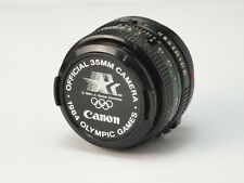Canon 50mm 1:1.8 Lens - vintage 1984 Olympics Edition