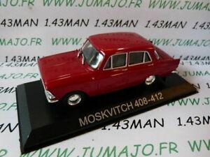 BAL33 Auto 1/43 IXO Deagostini Balkan: Moskwitsch 408-412