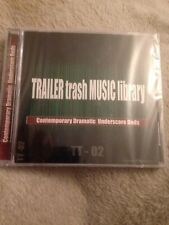 Trailer Trash Music library - Contemporary Dramatic Underscore Beds CD **