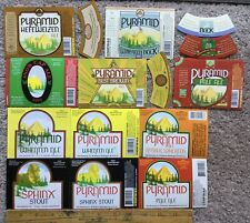 Lot Of 11 Beer Label Hart Brewing Pyramid Ales 1992 Snow Cap Wheaten Neck Labels