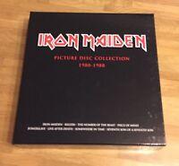 Iron Maiden Picture Disc Vinyl Collection Box (Gatefold LP Sammlung, Rarität)