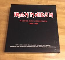 Iron Maiden Picture Disc Vinyl Collection Box (Gatefold)