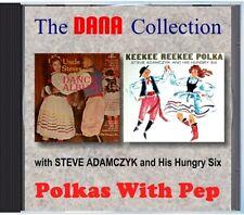 MZ 120 - Steve Adamczyk & His Hungry Six - Polkas With Pep - POLKA CD