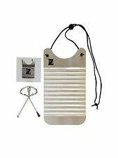 Washboard Zydeco Rubboard Musical Instrument Frottoir Percussion Scrubboard Mini