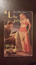 "Mickey Spillane, ""I, the Jury,"" 1948, White Circle CD 384, VG, 1st Can"