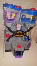 LOT #4 OF IMAGINEXT DC SUPER HEROES LIGHT UP LARGE BATCAVE LOOK! BATMAN BATCAVE