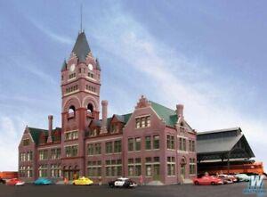 1/87 Walthers 933-2943 HO Gare  Milwaukee-Style Station  Train Shed Neuf-New-Neu