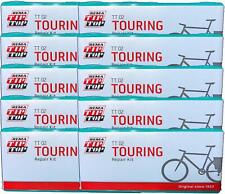 Ten (10) REMA Touring Bicycle Tube Patch Repair Kits TT02 (22)  - Large TT O2