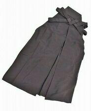 @.Japanese Vintage Kimono Hakama Mens Pants type(Umanori) Silk 7nfuji25264