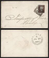 GB Victoria 1855 - Cover to Harsley F11