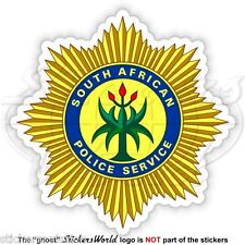 SOUTH AFRICA POLICE SERVICE Badge, SAPS S.African National Police Force Sticker