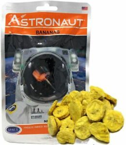 Astronaut Space Food - Bananas - Freeze Dried Fruits, Astro Food, Nutrition