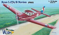 Ryan L-17 A/B Navion in Uruguay (1/72 model kit, Valom 72108)