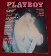 PLAYBOY NOVEMBER 1982 11/82 WOMEN OF BRANIFF LUCIANO PAVAROTTI INTERVIEW F/VF