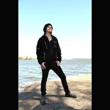 Vixxsin Gothic Goth Punk Festival Jacke Hoodie Wolljacke - Gain Jacket Zipper