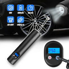 150PSI Air Pump Wireless Air Electric Tire Inflator Car Bike Bicycle 6000mAh
