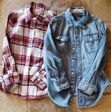 Gap Kids Youth Clothing Lot - 2 Long Sleeve Shirts - Size S Reg - Small Regular