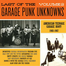LAST OF THE GARAGE PUNK UNKNOWNS VOL 2 CRYPT RECORDS LP VINYLE NEUF NEW GATEFOLD