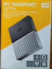 *BRAND NEW* WD 4TB USB 3.0 My Passport Ultra Portable External Hard Drive