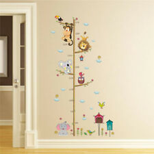 Height Measure Wall Sticker Nursery Room Decor For Kids Rooms Growth Chart