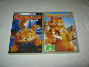 Garfield + Garfield 2 - VGC - DVD - R4