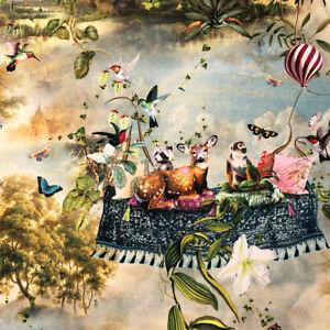 Magic Carpet 100% French Cotton Fabric | Double Width | Matthew Williamson Style