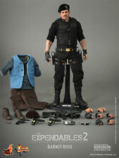 """Barney Ross Sylvester Stallone The Expendables 2 12"""" Figur MMS194 Hot Toys"""