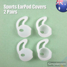 2 Pair Sports Silicone Caps Anti Slip Covers For Apple Earpods Headphones