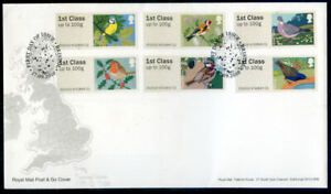 Great Britain 2010 Birds Post & Go Series 1 on first day cover (2020/11/07#01)