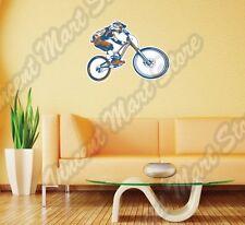 "Mountain Bike Trials BMX Outdoor Travel Wall Sticker Room Interior Decor 25""X22"""