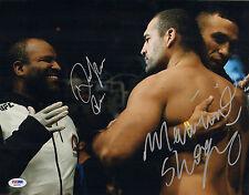 MAURICIO SHOGUN RUA RAFAEL CORDEIRO SIGNED AUTO'D 11X14 PHOTO PSA/DNA UFC KINGS