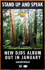 DJDS Stand Up And Speak 2016 Ltd Ed RARE New Poster +FREE EDM/Dance/Pop Poster!