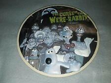 Wallace And Gromit The Curse of The Were rabbit Sculpted collectors Plate Boxed