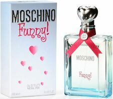 MOSCHINO FUNNY Perfume 3.3 oz / 3.4 oz edt New in Box