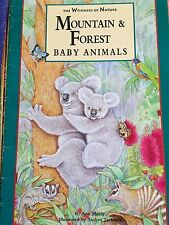 Teacher Big Book MOUNTAIN & FOREST BABY ANIMALS Wonders of Learning