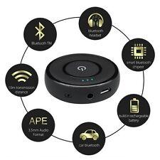 3.5mm BLUETOOTH AUTO MUSICA AUDIO AUX Stereo Ricevitore Trasmettitore Adattatore