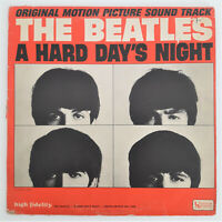 THE BEATLES A HARD DAY'S NIGHT LP MONO UAL 3366 I CRY RARE RED LABEL CANADA