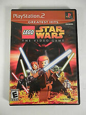 Lego Star Wars: The Video Game (Sony Playstation 2, 2005) PS2